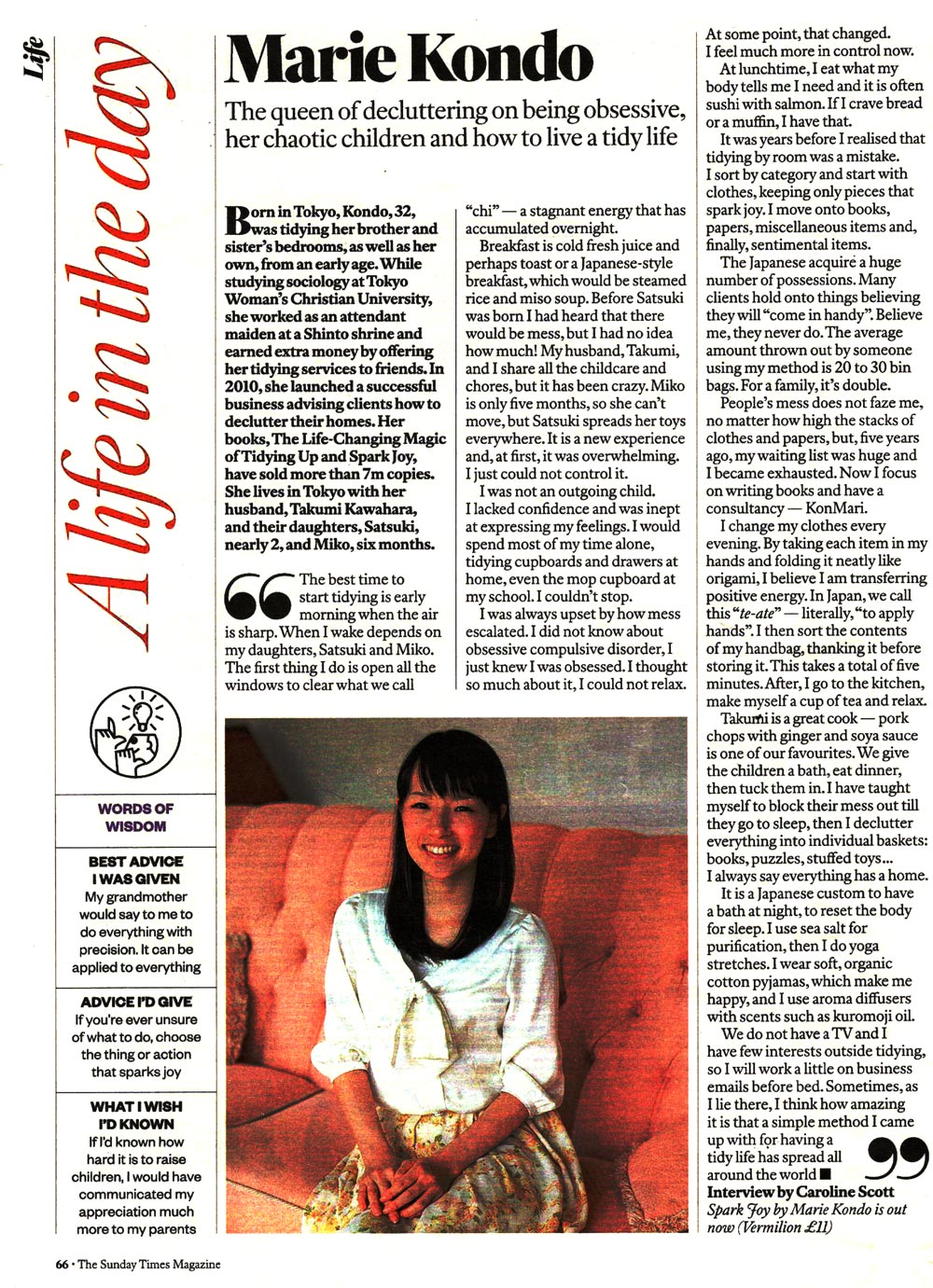 A Life in the day - Marie Kondo