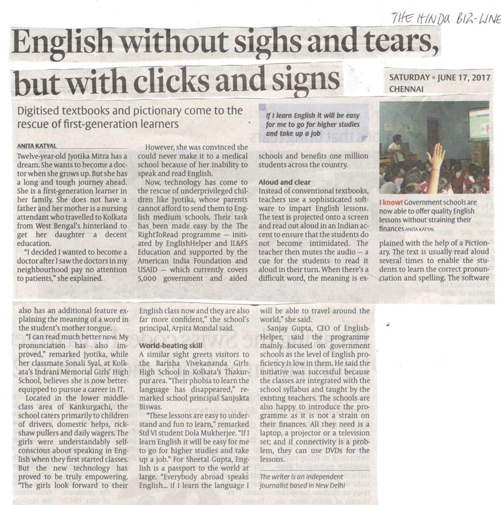 English without sighs