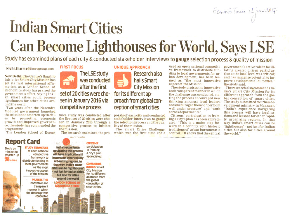 Indian Smart cities