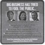 Big Business has tried to fool public